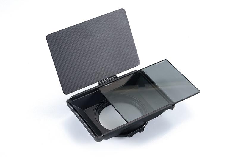 Mini matte box tilta per sito Ouvert