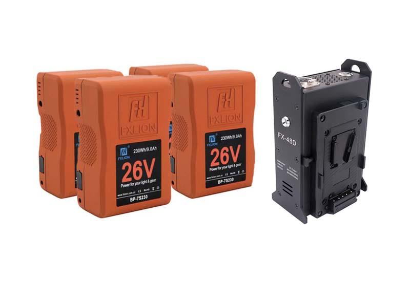 Batterie 48v più mini skypower per sito Ouvert