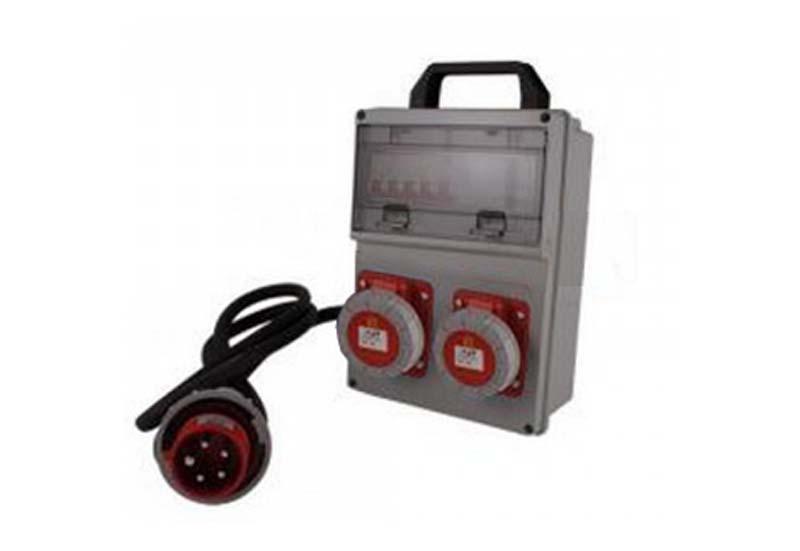 Cassetta portatile 125A-2x125A per sito Ouvert