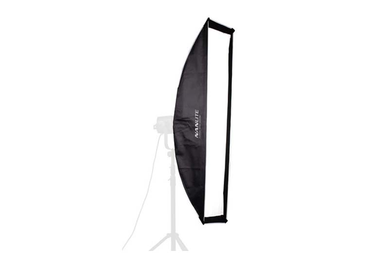 Nanlite softbox strip per sito Ouvert