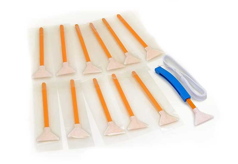 Sensor cleaning swabs Vswabs per sito Ouvert
