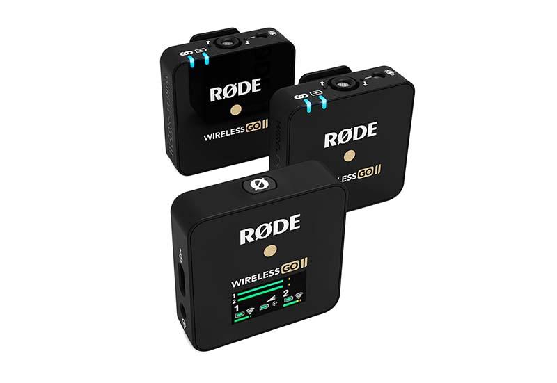 Rode wireless go II per sito Ouvert